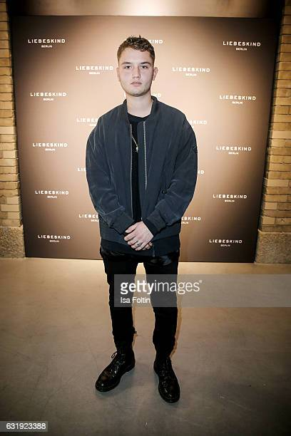 British model and musician Rafferty Law attends the Liebeskind Berlin housewarming party during the MercedesBenz Fashion Week Berlin A/W 2017 at on...