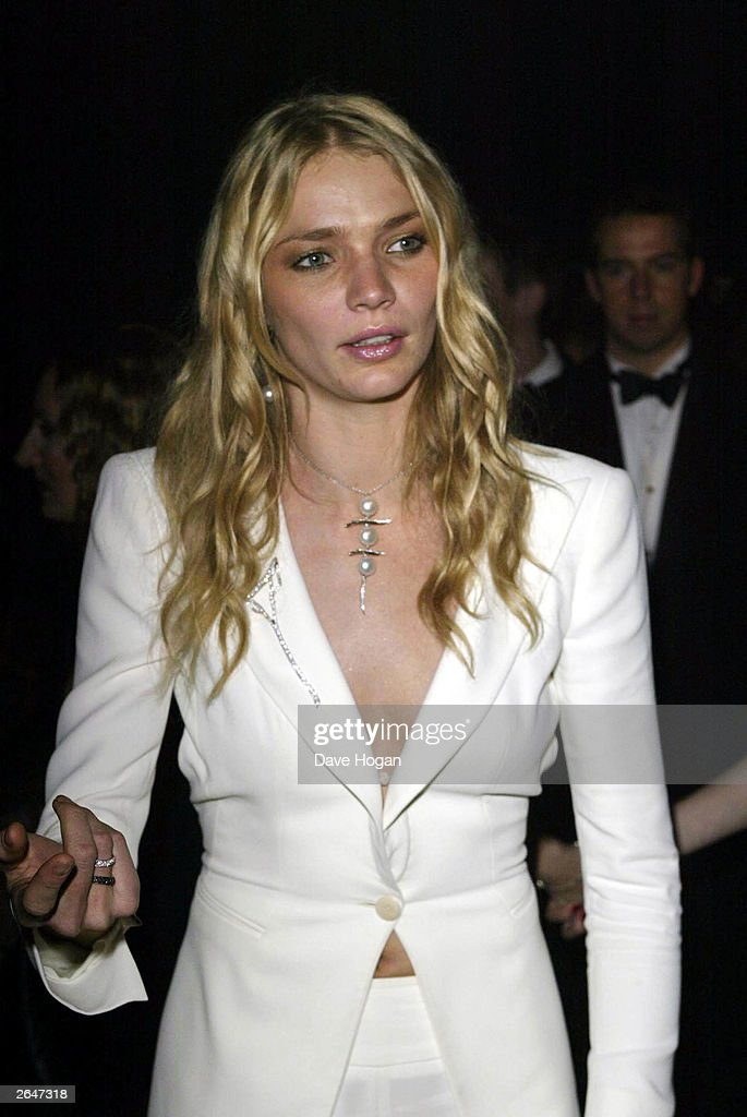 British model Jodie Kidd attends the world premiere of the James Bond film 'Die Another Day' at the Royal Albert Hall on November 18, 2002 in London.