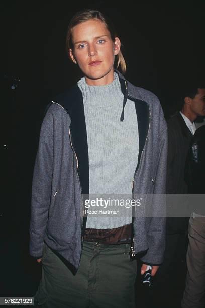 British model Stella Tennant at the Marc Jacobs Spring '98 fashion show USA 1997