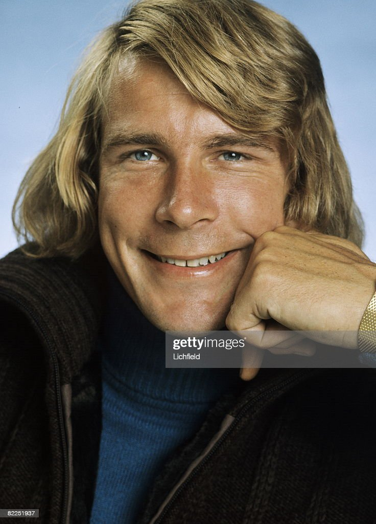 British motor racing driver and commentator James Hunt photographed in the Studio on 24th August 1976
