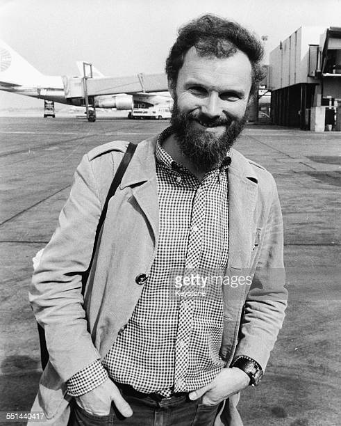 British mountain climber Nick Estcourt pictured at an airport printed after his death on K2 the second highest mountain in the world June 20th 1978