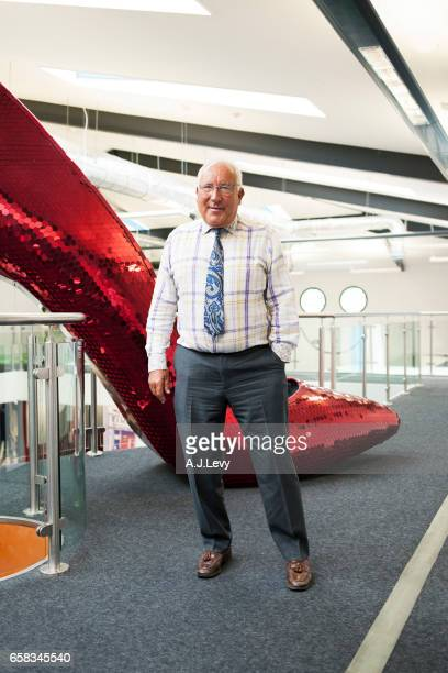 British multinational retailer John Timpson is photographed for Retail Week UK on February 6 2017 in London England