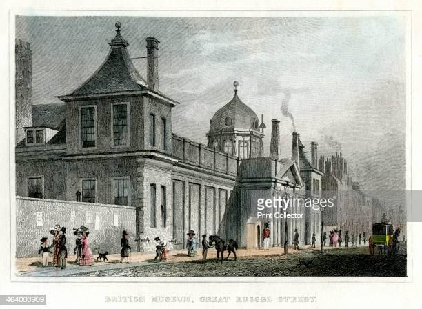 British Museum Great Russell Street London 19th century