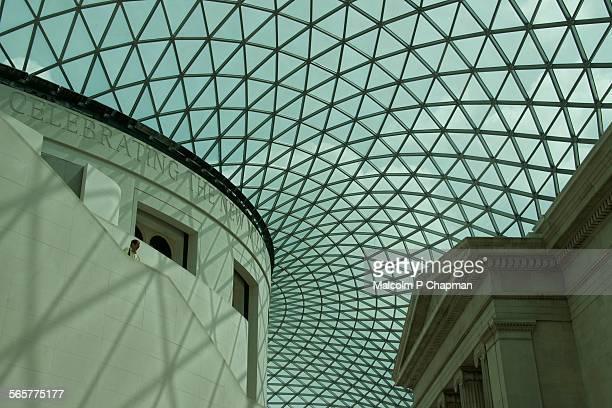 British Museum, The Great Court, London UK