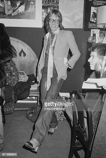 British music publicist/PR Tony Brainsby pictured in London 1976