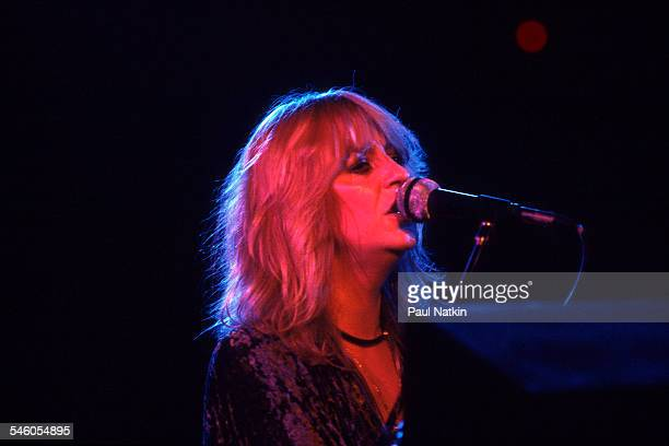 British musician Christine McVie of the group Fleetwood Mac performs onstage at the Alpine Valley Music Theater East Troy Wisconsin July 19 1978