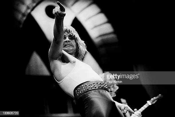 British musician Ozzy Osbourne performs at the Alpine Valley Music Theater East Troy Wisconsin May 29 1982