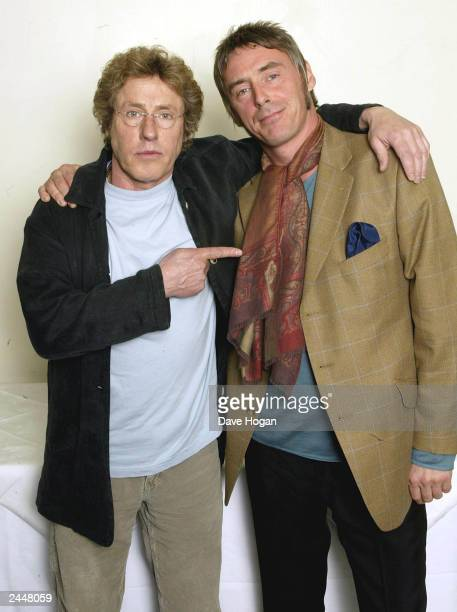 British musician Paul Weller with Roger Daltrey of 'The Who' attend the charity concert in aid of the 'Teenage Cancer Trust' at the Royal Albert Hall...