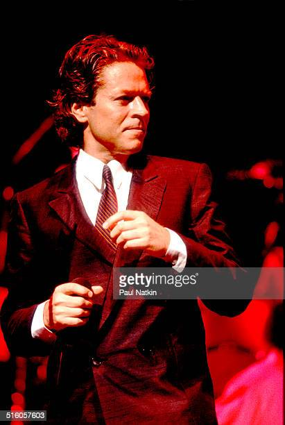 British musician Robert Palmer performs onstage Chicago Illinois July 7 1986
