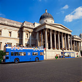 British National Gallery in London, England