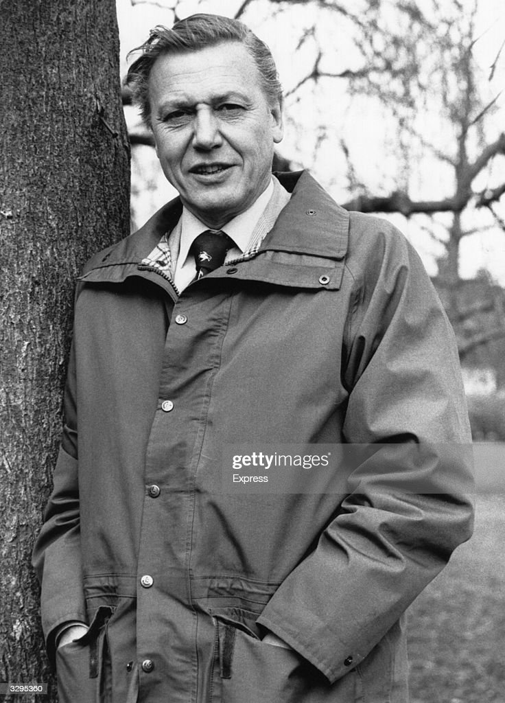 British naturalist and broadcaster Sir David Attenborough.