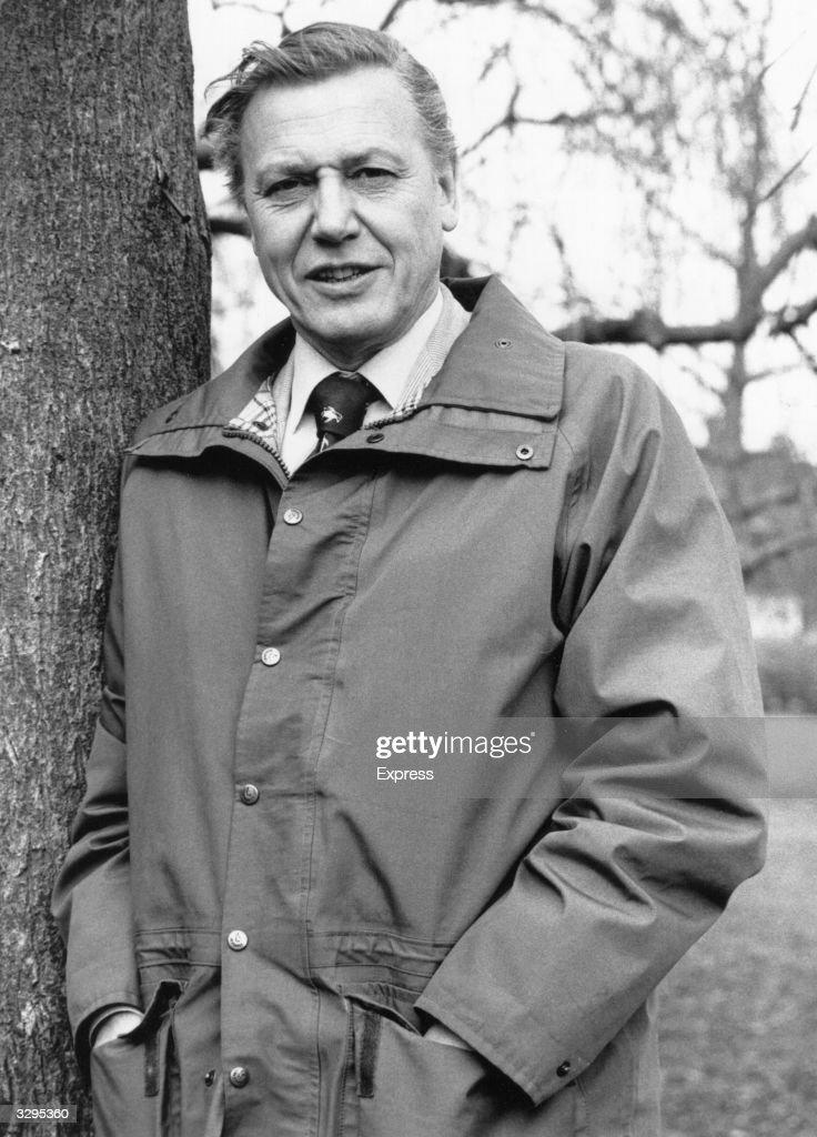 British naturalist and broadcaster Sir David Attenborough.