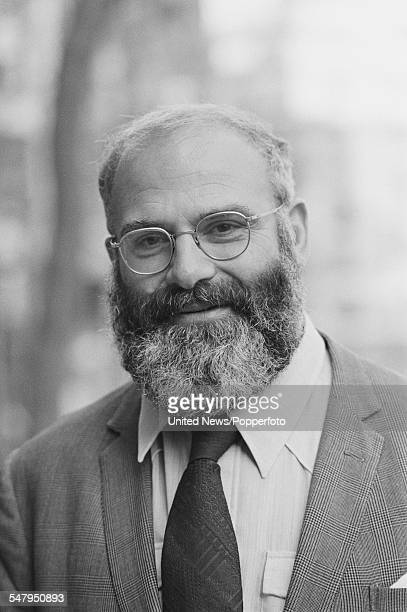 British neurologist and author Oliver Sacks pictured in London on 10th March 1983