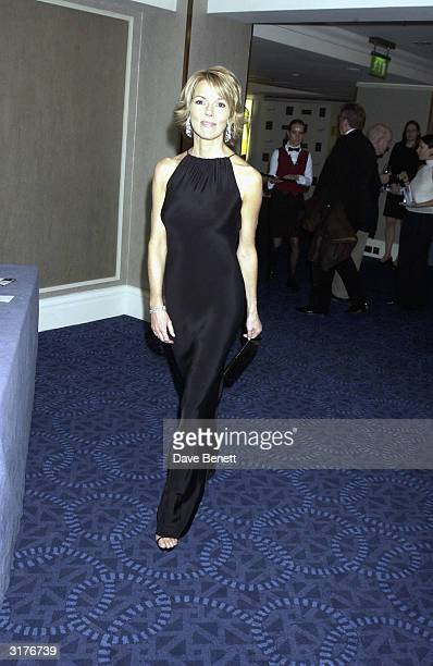 British newsreader Mary Nightingale attends the 'Tio Pepe Carlton London Restaurant Awards 2003' at the Great Room Le Meridian Grosvenor House on...