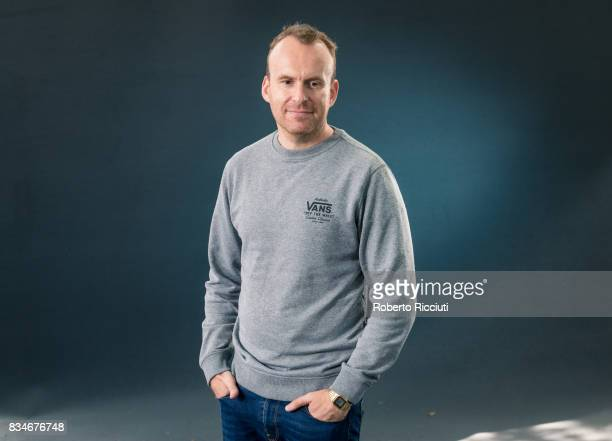 British novelist and journalist Matt Haig attends a photocall during the annual Edinburgh International Book Festival at Charlotte Square Gardens on...