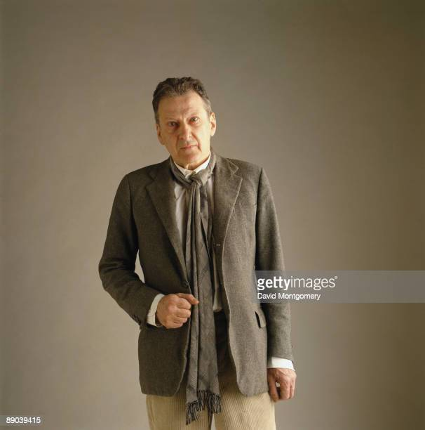 British painter Lucian Freud circa 1990