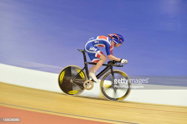 British paracyclist at the 2009 ParaCycling World Championships at the Velodrome in Manchester November 6 2009