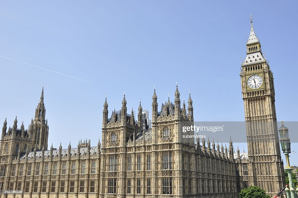 British Parlament : Foto de stock