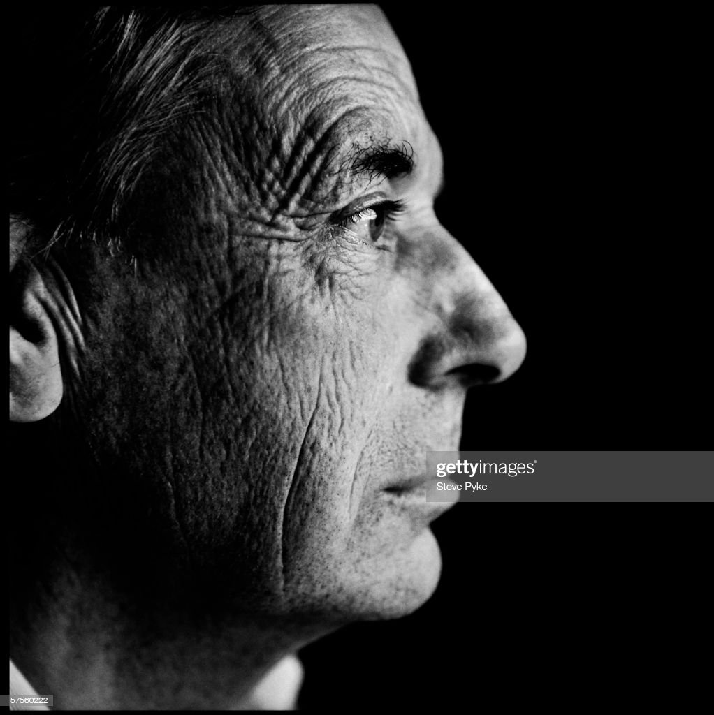British philosopher Bernard Williams (1929 - 2003) in Oxford, where he holds the post of White's Professor of Moral Philosophy, 1991.