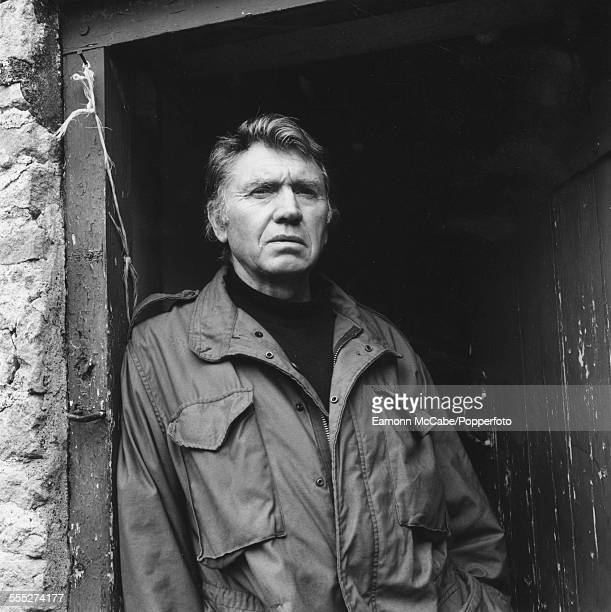 British photojournalist Don McCullin at home in Somerset circa 2010