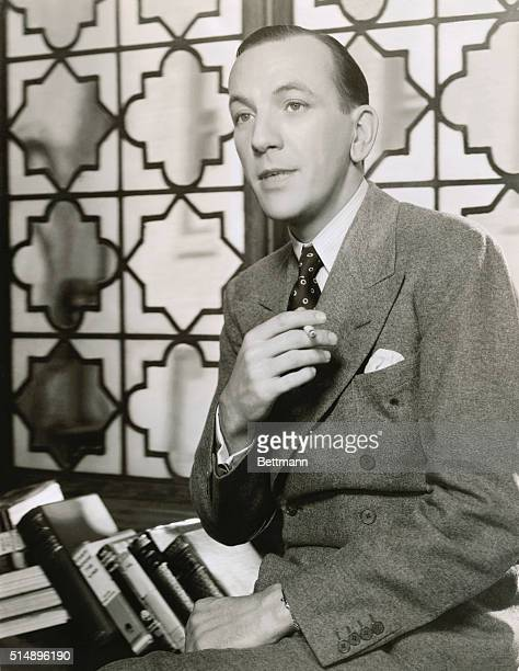 British playwright actor and composer Noel Coward