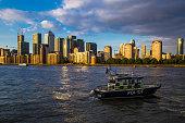 London Docklands Thames River British Transport Police England