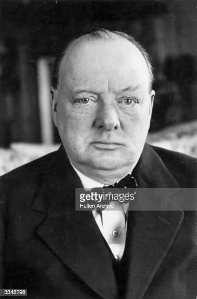 British politician and Prime minister Winston Leonard Spencer Churchill
