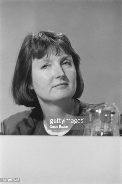 British politician Harriet Harman at the Labour Party conference UK 2nd October 1996