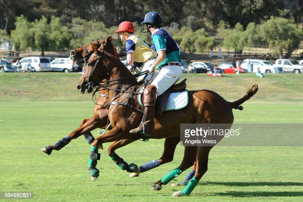 British Polo Day presented by Land Rover at Will Rogers Polo Field on May 31 2014 in Los Angeles California