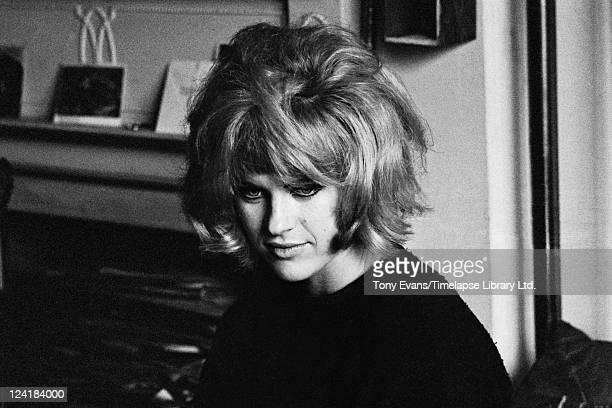 British pop artist Pauline Boty circa 1963