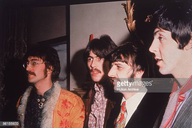 British pop group the Beatles John George Ringo and Paul circa 1967