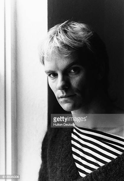 British pop singer Sting