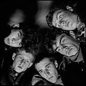British postpunk band The Pop Group Bristol 1979 Left to right Bruce Smith John Waddington Simon Underwood Mark Stewart and Gareth Sager