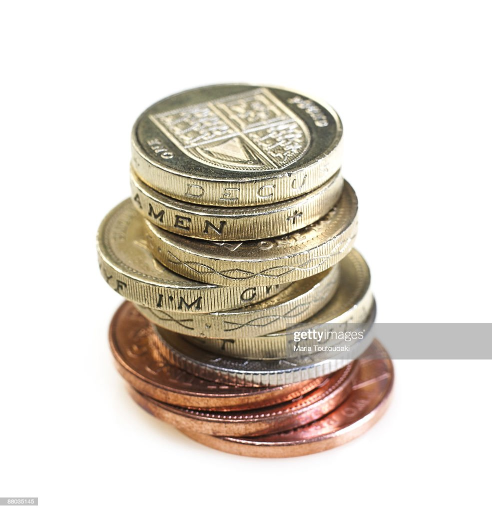 British pounds : Stock Photo