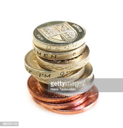 British pounds : ストックフォト