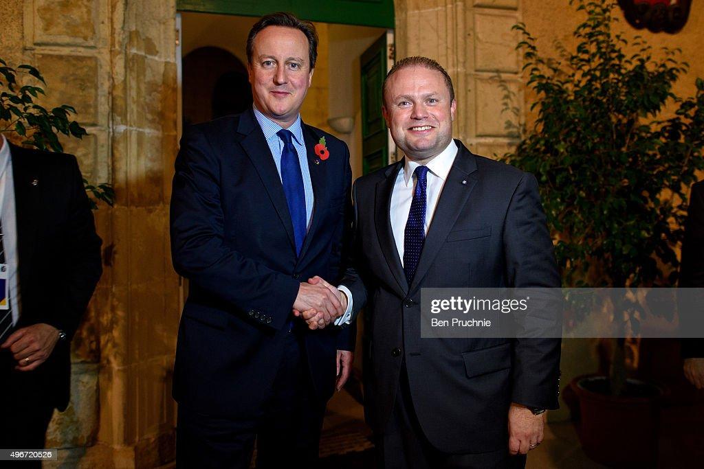 David Cameron Attends The Valletta Summit On Migration
