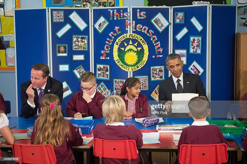 Obama with Kids