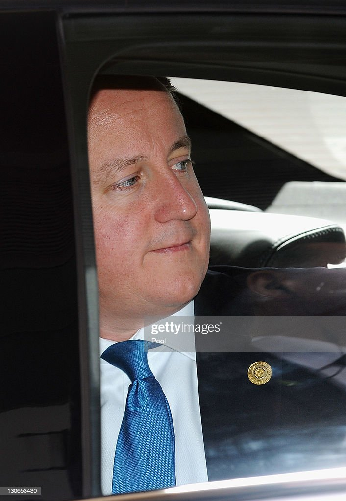 British Prime Minister <a gi-track='captionPersonalityLinkClicked' href=/galleries/search?phrase=David+Cameron+-+Politician&family=editorial&specificpeople=227076 ng-click='$event.stopPropagation()'>David Cameron</a> arrives for the opening ceremony at the Commonwealth Heads of Governement Meeting (CHOGM) on October 28, 2011 in Perth, Australia. The three-day Commonwealth Heads of Government meeting takes place in Perth October 28 - 30.