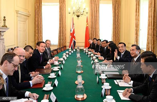British Prime Minister David Cameron Foreign Secretary William Hague Chancellor of the Exchequer George Osborne and Energy Secretary Edward Davey...