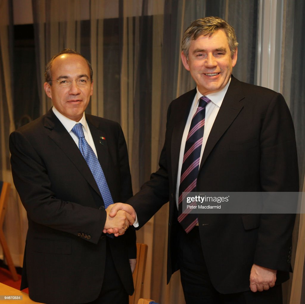 Gordon Brown Holds Bi-lateral Talks In Copenhagen