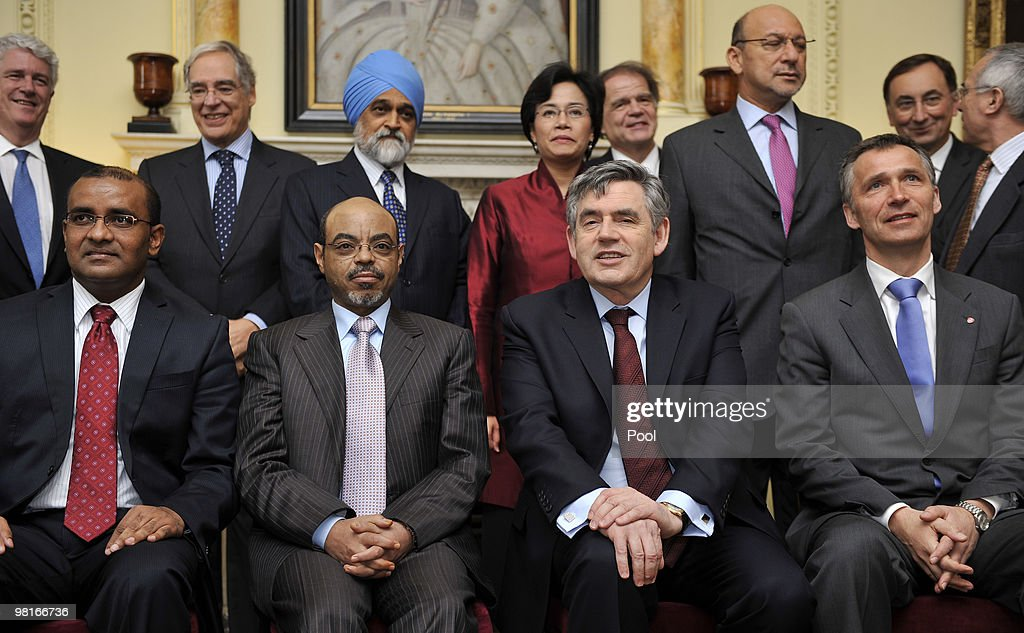 PM Gordon Brown Hosts First Climate Finance Group Meeting