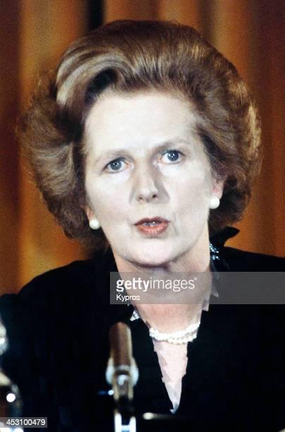 British Prime Minister Margaret Thatcher circa 1990