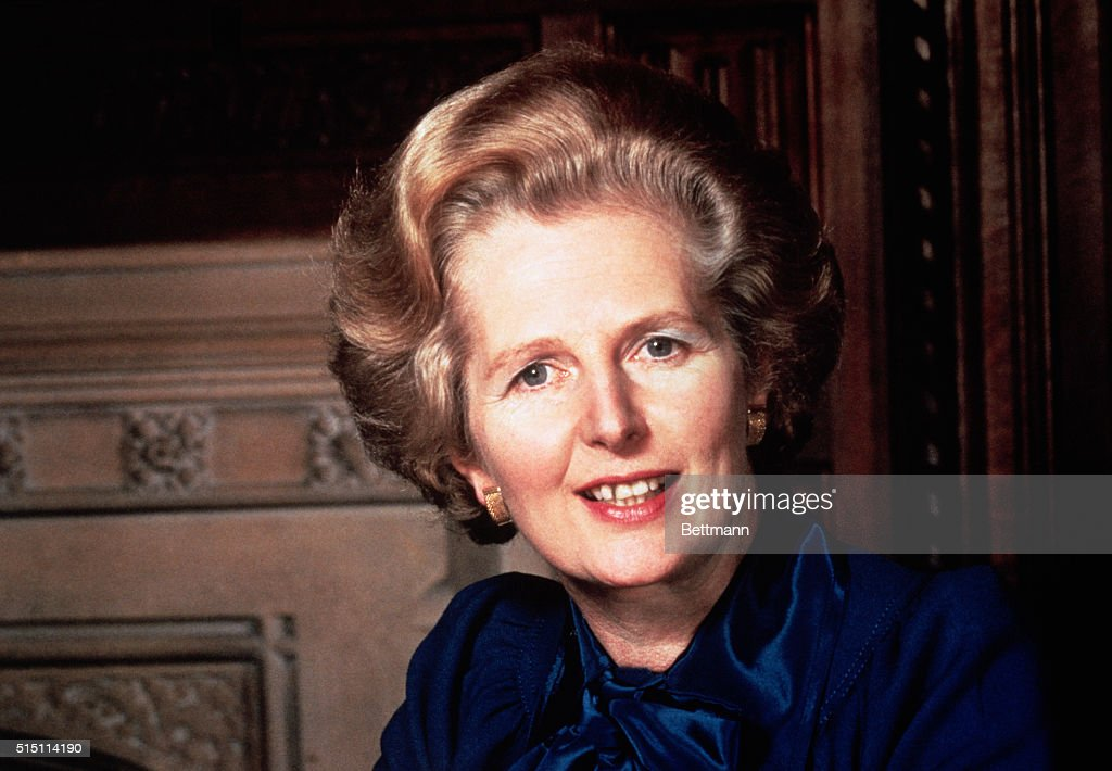 British Prime Minister <a gi-track='captionPersonalityLinkClicked' href=/galleries/search?phrase=Margaret+Thatcher&family=editorial&specificpeople=159677 ng-click='$event.stopPropagation()'>Margaret Thatcher</a>