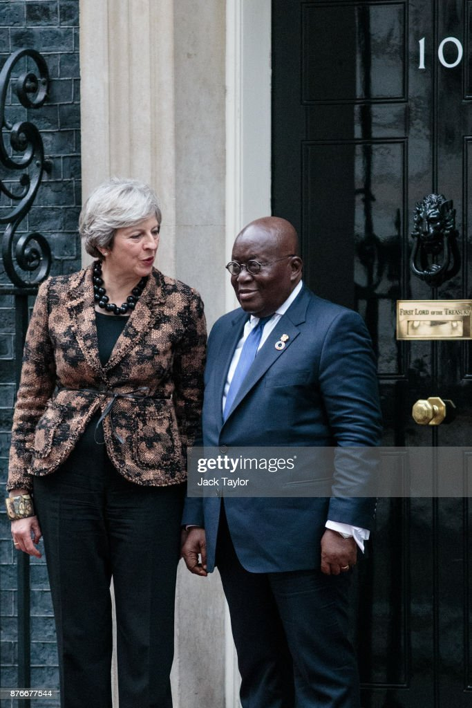 The Prime Minister Meets The President Of Ghana