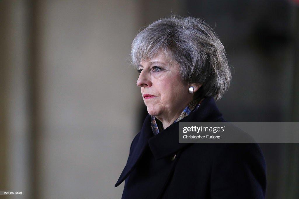 British Prime Minister Visits Turkey : News Photo