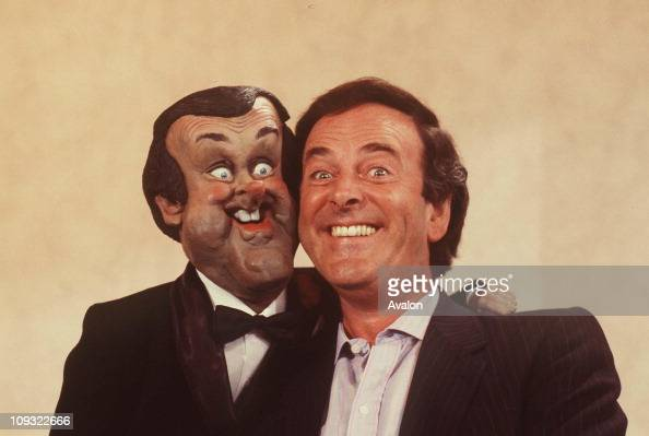 British Radio and TV Presenter Terry Wogan With his SPITTING IMAGE PUPPET
