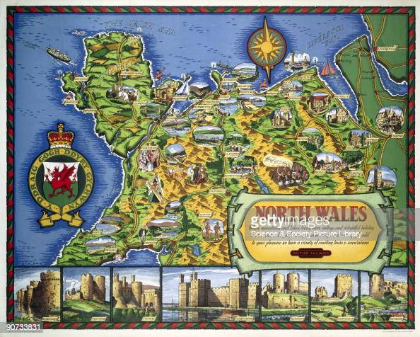 north wales br lmr poster 1960 pictures getty images