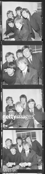 British rhythm and blues pop group the Rolling Stones 1964 from left to right Mick Jagger Bill Wyman Charlie Watts Keith Richards and Brian Jones