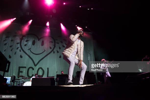 British rock band Kasabian perform live at the O2 Arena in london on December 1 2017 Kasabian are a rock band from Leicester England consisting of...