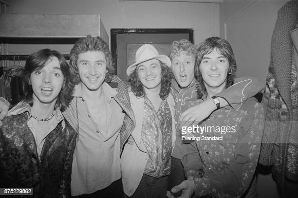 British rock band Small Faces UK 26th September 1977 From left to right Jimmy McCulloch Kenny Jones Steve Marriott Rick Willis Ian McLagan